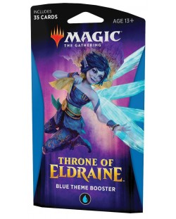 Magic the Gathering - Throne of Eldraine Theme Booster Blue