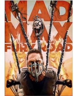 Метален постер Displate - Mad Max - Fury Road