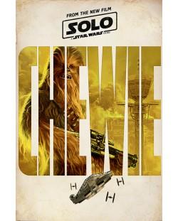 Макси плакат Pyramid - Solo: A Star Wars Story (Chewie Teaser)
