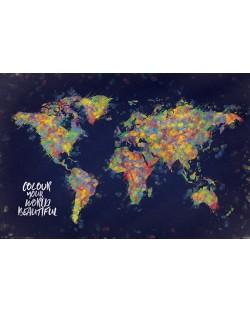 Макси плакат Pyramid - Colour Your World Beautiful