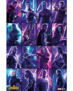 Макси плакат Pyramid - Avengers: Infinity War (Heroes)