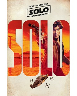 Макси плакат Pyramid - Solo: A Star Wars Story (Solo Teaser)