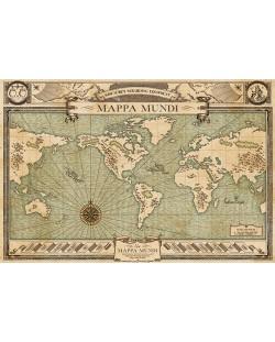 Макси плакат Pyramid - Fantastic Beasts (Mappa Mundi)