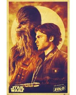 Макси плакат Pyramid - Solo: A Star Wars Story (Han and Chewie)