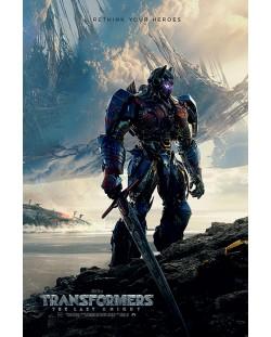 Макси плакат Pyramid - Transformers The Last Knight (Rethink Your Heroes)