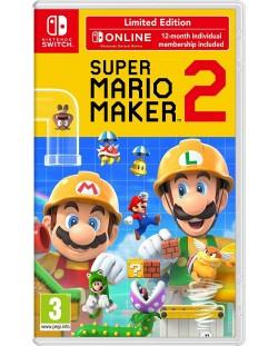 Super Mario Maker 2 + 12 месеца Nintendo Switch Online (Nintendo Switch)
