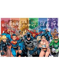 Макси плакат Pyramid - Justice League America (Generations)