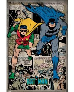 Макси плакат Pyramid - Batman (Comic Montage)