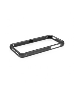 Macally Aluminium Frame за iPhone 5 -  черен