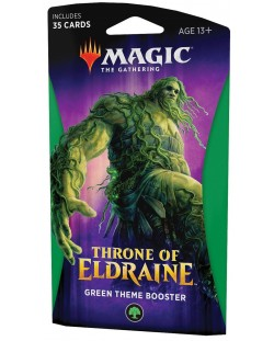 Magic the Gathering - Throne of Eldraine Theme Booster Green