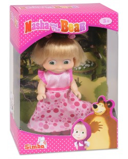 Кукла Simba Toys Маша с розова рокля и опашчици