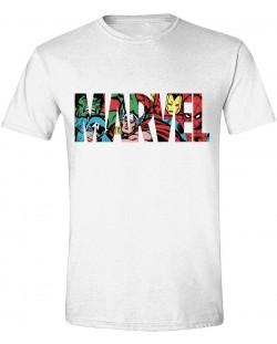 Тениска Timecity Marvel - Characters in Logo