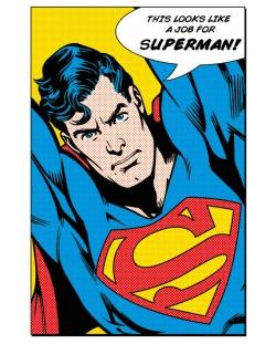 Макси плакат Pyramid - Superman (Looks Like A Job For)