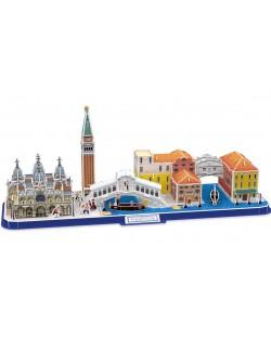 3D Пъзел Cubic Fun от 126 части - City Line Venezia