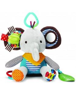 Мека играчка Skip Hop - Слонче, с гризалка