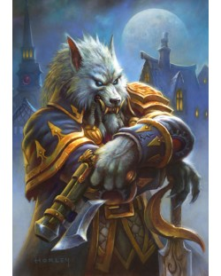 Метален постер Displate - Hearthstone: Genn Greymane