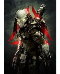 Метален постер Displate -  Predator