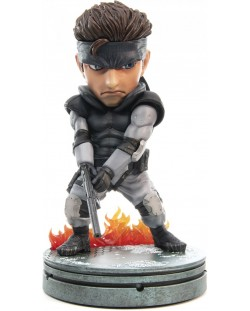 Статуетка First 4 Figures Metal Gear Solid - Solid Snake SD, 20cm