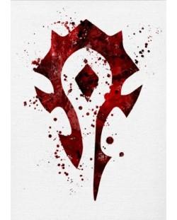 Метален постер Displate - The Horde