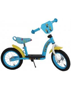 Метално колело за баланс E&L Cycles - Миньоните, 12 инча