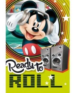 Ученическа тетрадка А5, 24 листа Mickey - Ready To Roll