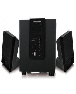 Аудио система Microlab M-100BT - 2.1, Bluetooth, черна