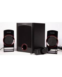 Аудио система Microlab M111 - 2.1, черна