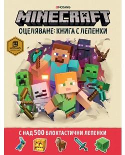 Minecraft оцеляване: Книга с лепенки