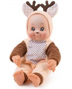Кукла раздаваща целувки Smoby MiniKiss Animal - Еленче, 30 cm