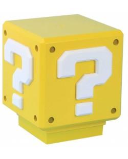 Мини лампа Paladone Nintendo Super Mario - Question Block