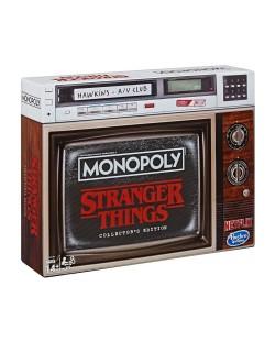 Настолна игра Hasbro Monopoly - Stranger Things Collectors Edition