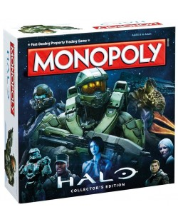 Настолна игра Monopoly - Halo, Collector's Edition
