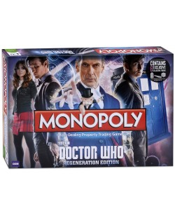 Настолна игра Monopoly - Doctor Who Regenerattion Edition