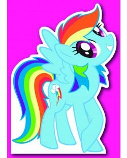 Поздравителна картичка Danilo - My Little Pony: Die-Cut Card