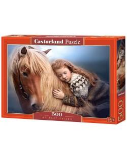 Пъзел Castorland от 500 части - Най-добрият ми приятел