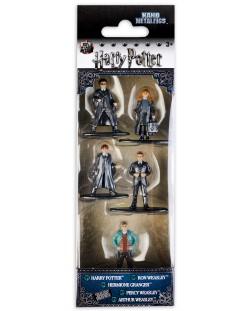 Комплект фигури Nano Metalfigs Harry Potter - 5 броя