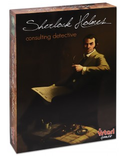 Настолна игра Sherlock Holmes Consulting Detective