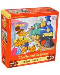 Мини пъзел New York Puzzle от 20 части - Всички на борда