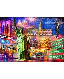 Пъзел Bluebird от 3000 части - Ню Йорк