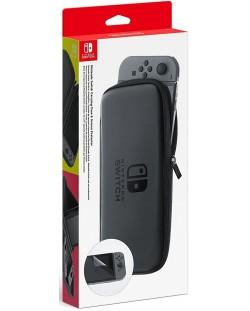 Nintendo Switch - Чантичка за съхранение и протектор на екрана