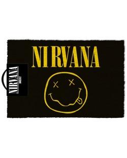 Изтривалка за врата Pyramid - Nirvana (Smiley), 60 x 40 cm