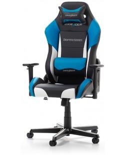 Геймърски стол DXRacer - серия DRIFTING, черен/бял/син - OH/DM61/NWB