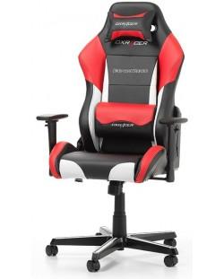 Геймърски стол DXRacer - серия DRIFTING, черен/бял/червен - OH/DM61/NWR