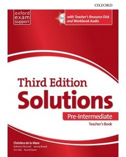 Комплект за учителя Solutions 3E Pre-Intermediate ESS TB & RES Disk Pack
