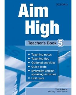 Книга за учителя Aim High 5 Teacher's Book