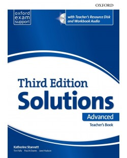 Оксфорд Solutions 3E Advanced Essen Teacher's book & Res Disk Pack