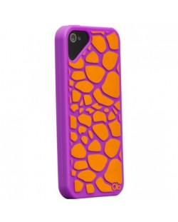 Olo Fashion Case Girrafe Purple за iPhone 5
