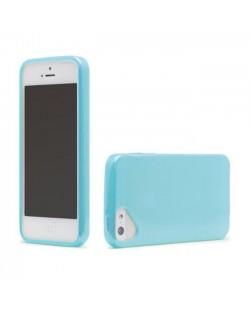Olo Glacier Snap On TPU Case за iPhone 5 -  син