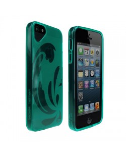 Olo Glacier Snap On TPU Case за iPhone 5 -  зелен-прозрачен