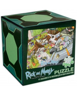 Пъзел Jigsaw от 300 части - Rick and Morty